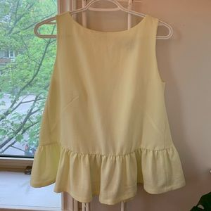 French Connection - Lime open back top